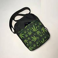 Месенджер\мессенджер (сумка на плече) - Milk Clothing - Classic Weed\Black