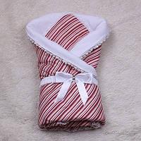 """Летний конверт-одеяло """"Ярина"""" (красный), фото 1"""