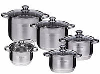 Набор посуды кастрюли Edenberg EB 4009 (10 элементов)