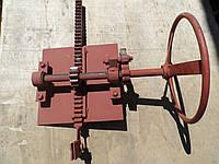 Механизм подйома шибера (Шиберная заслонка)