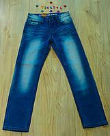 Модные  светлые  джинсы   для мальчика на рост 134-164 см, фото 1