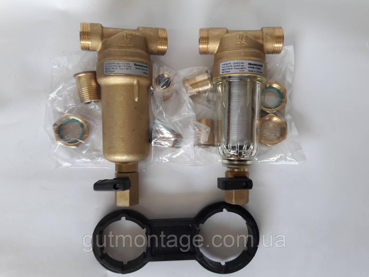 В пакетном предложении комплект фильтров  Honeywell Германия FF06 1/2AA и 1/2ААМ. , фото 1