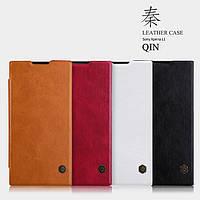 Кожаный чехол Nillkin Qin для Sony Xperia L1 (4 цвета)