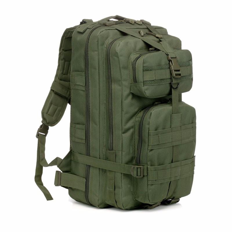 Тактический штурмовой военный рюкзак 25л портфель темно-зеленый