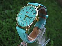 """Женские наручные часы """"Geneva"""" - мятные"""