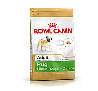 ROYAL CANIN PUG 25 ADULT (МОПС ЭДАЛТ) корм для собак от 10 месяцев 1,5КГ