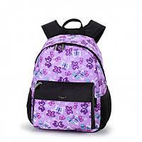 Детский рюкзак Dolly 362 школьный для девочки с принтом 26 см* 32 см* 20 см