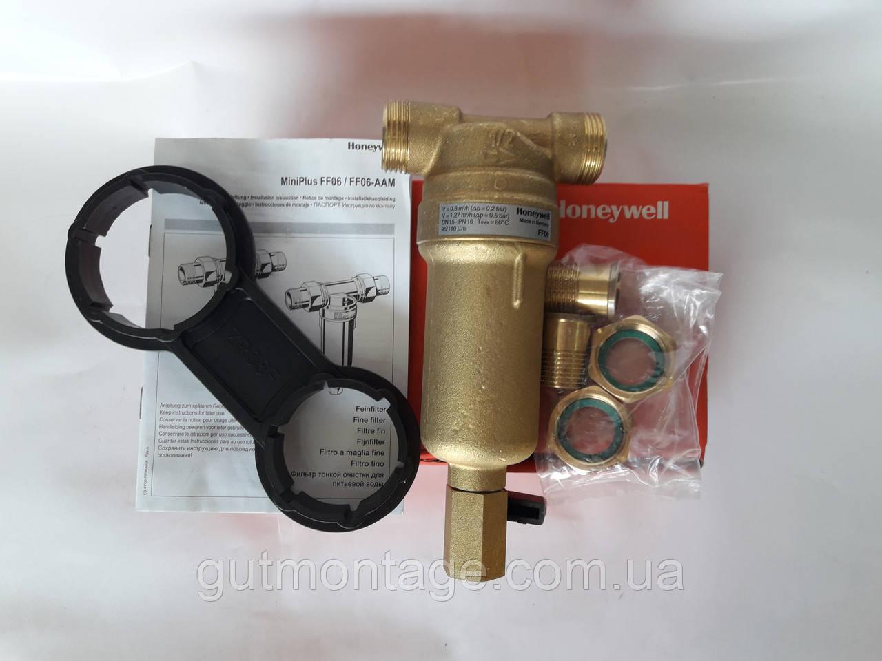 Фильтр 100микрон Honeywell FF06 11/4AAМ. Для частного дома