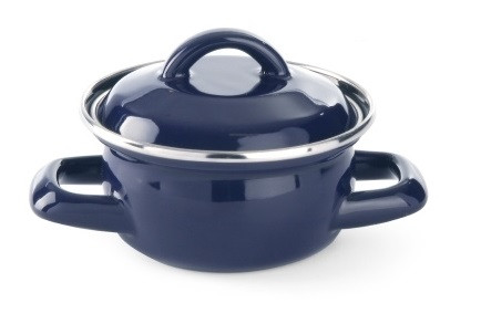 Каструля для супів і соусів з кришкою Hendi 625804 0,4л.