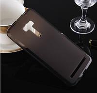 """Силиконовый чехол накладка для Asus Zenfone Selfie (5.5""""-ZD551KL) Black"""