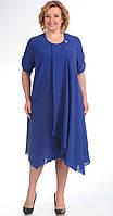 Платье Novella Sharm-2759 белорусский трикотаж, синий, 58