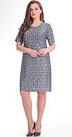 Платье Novella Sharm-2766-1 белорусский трикотаж, серебро, 52