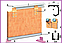 Раздвижная система max 30 кг полотно 3 м направляющая, фото 2