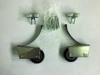 Ролик для шкафа-купе силиконовый 37,5 мм