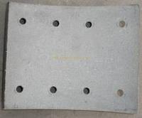 19934 18.5 Накладки тормозные RENAULT MAJOR 414x150