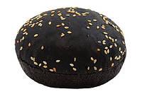 Булочка для гамбургера черная 70 с кунжутом
