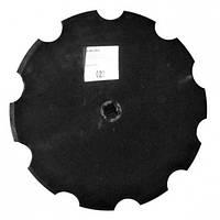 ВА-01.433 Диск бороны (ромашка) John Deere (Днар=610 мм)z=10 (Борированный) (Велес-Агро)