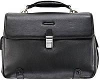 Мужской кожаный портфель Piquadro Modus CA1095MO_N черный