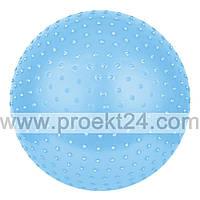Массажный мяч для фитнеса 65 см, с насосом