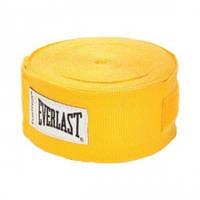 Бинт боксерский Everlast Hand Wraps 4,55 м. желтый, арт.4456G