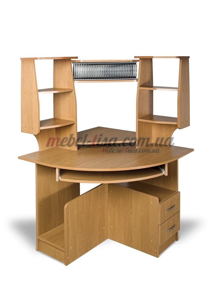 Компьютерный стол СК-92 (орех лесной, зеркальный)