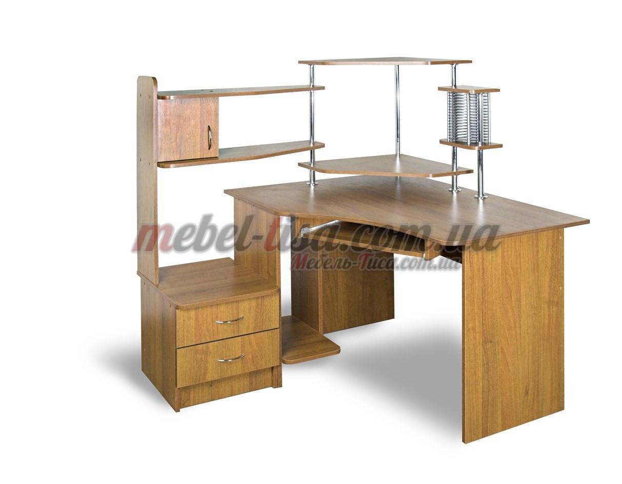 Компьютерный стол СТУ-3 (ольха темная)
