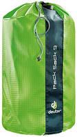 Прочный упаковочный мешок-чехол Pack Sack 9 цвет 2004 kiwi/зеленый DEUTER 3940816.