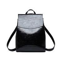 Женская сумка рюкзак трансформер. Стильные женские городские рюкзаки. Красный, черный, коричневый, фото 1