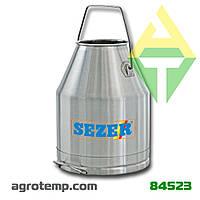 Ведро SEZER 30л (нержавеющая сталь)