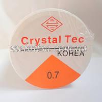 Нить силиконовая, прозрачная, 0,7 мм