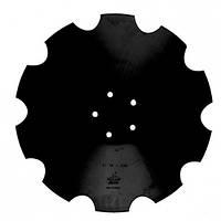ВА-01.522 Диск бороны (ромашка) Horsch Joker (Днар=510 мм, 5отв)z=10 (Борированный) (Велес-Агро)