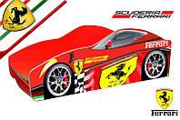 """Кровать машина серия """"Бренд"""" мод. Ferrari выбор цвета  для детей и подростков, бесплатная доставка в Ваш город"""