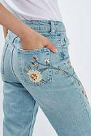 С чем сочетать джинсы с высокой талией?