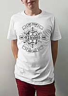 "Мужская футболка ""Let your dreams set sail"""