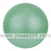Массажный мяч для фитнеса 75 см с насосом, зеленый