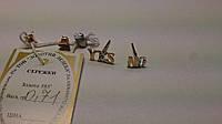 Золотые серьги   585 пробы гвоздики