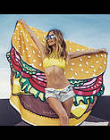 Пляжный коврик Гамбургер, фото 2