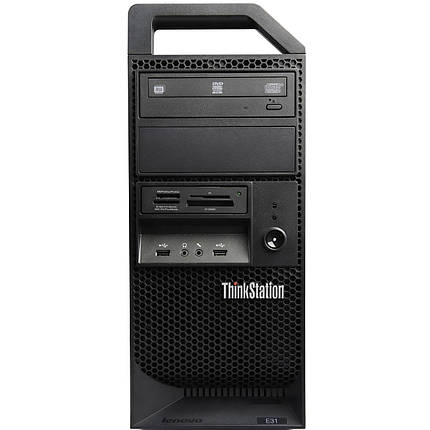 Рабочая станция LENOVO ThinkStation E31 - Intel Xeon E3-1220 v2(3.3 GHz)/8Gb DDR3-ECC/HDD-500gb, фото 2