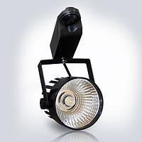 Трековый LED прожектор OPTONICALED 12W 2700К черный корпус