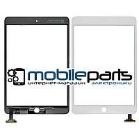 Сенсор (Тачскрин) для планшета Apple Ipad Mini 3 (Белый) + микросхема (ААА Копия высшего качества)