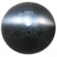 ВА-01.408-01Б Диск бороны (сфера) БГР-4,2 (СОЛОХА) (710 кв 42 толщина 6мм) (Борированный)
