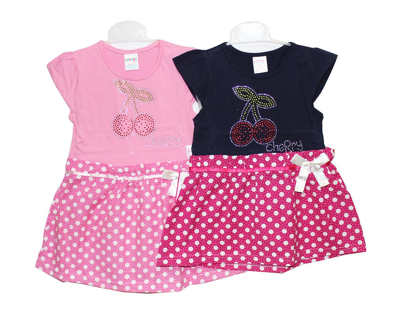 Платья детские трикотажные на лето