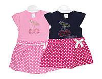 Платья детские трикотажные на лето , фото 1