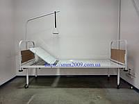 Кровать медицинская функциональная  2-х секционная (лист) с бамперами.