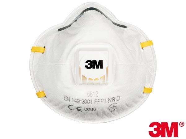 Полумаска с дыхательным клапаном 3M-MAS-P1-8812 - Спецгруп Львів в Львове
