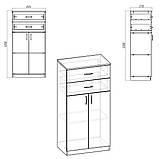 Шкаф - тумба КШ-14 для офиса и дома, фото 2