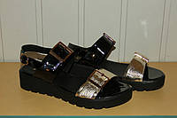Босоножки кожаные женские черные 37,40 р AURIS