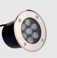 Светильник LED грунтовый Lemanso 7LED 7W 350LM 6500K / LM988