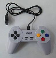 Джойстик для игровой приставки Dendy 3 8-bit с широким (15  pin) разъемом