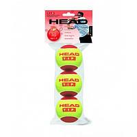Мяч теннисный HEAD T.I.P Red. Распродажа